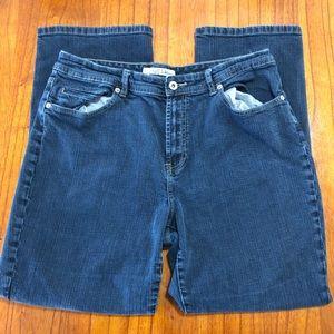 Chico's platinum bootcut jeans